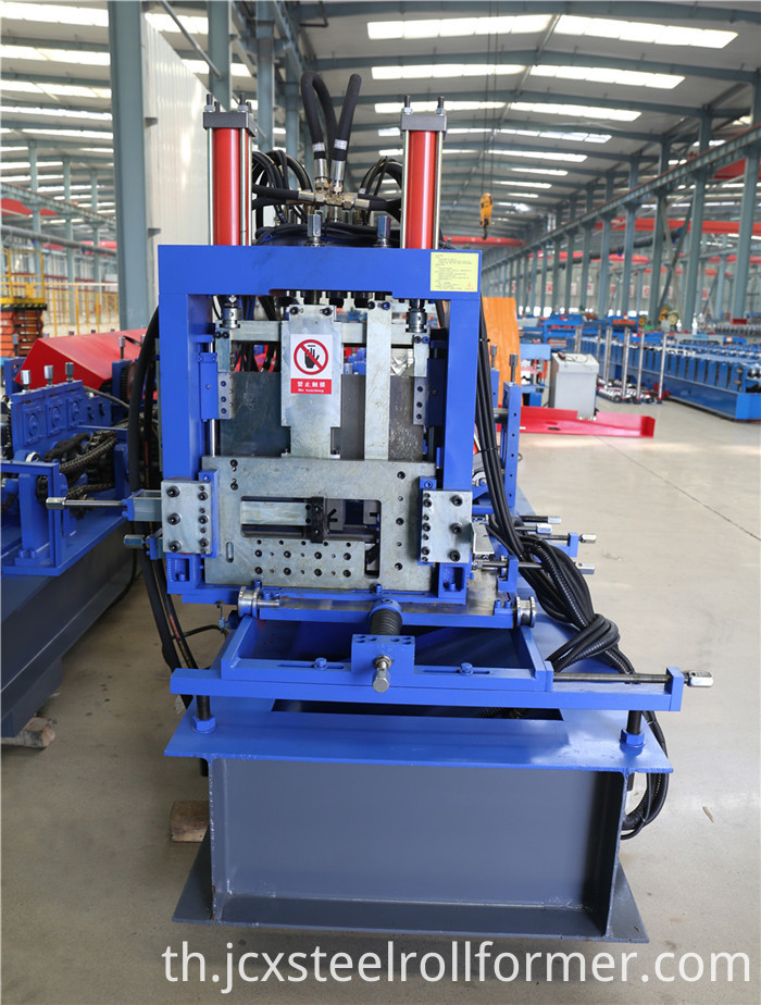 Fully-automatic C To Z Purlin Roll Forming Machine