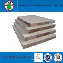 Natural Wood Veneer Blockboard From Manufacturer
