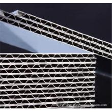 Custom Corrugated Aluminum Panels for Wall Cladding