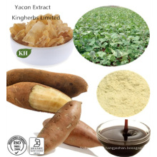 Pure Natural Organic Yacon Extract 40% ~ 70% Fos; Ratio Extract