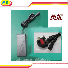 36v li-ion battery charger 42v2a power adapter for hover board 2 wheels self balancing scooter