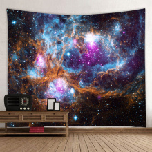 Starry Tapestry Galaxy Tapestry Night Sky Wall Hanging Universe Dreamy 3D Printing Tapestry voor Woonkamer Slaapkamer Home Dorm De