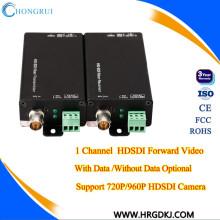 Extensor óptico da fibra do sdi do conversor da fibra Lossless do sdi de HD