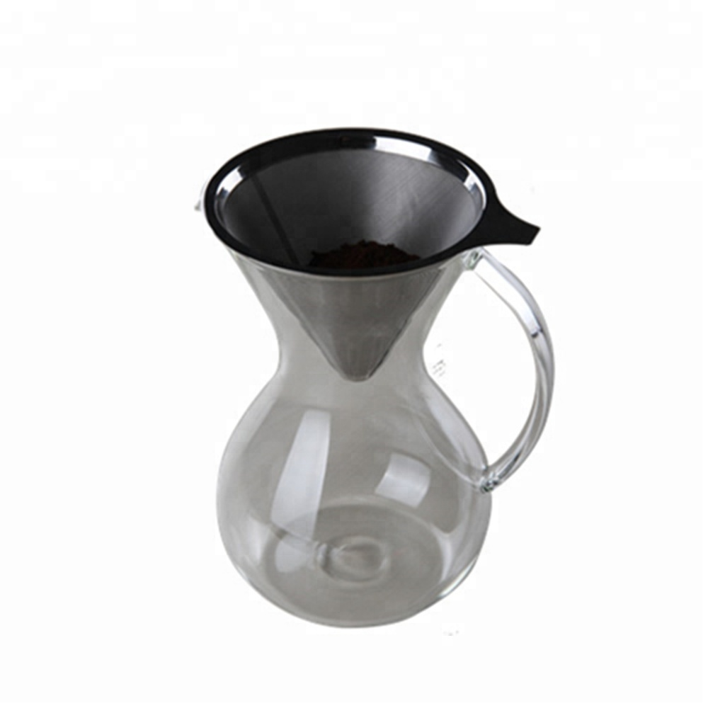 Glasscoffee Maker Hand Drip Pot With Hsndle 2