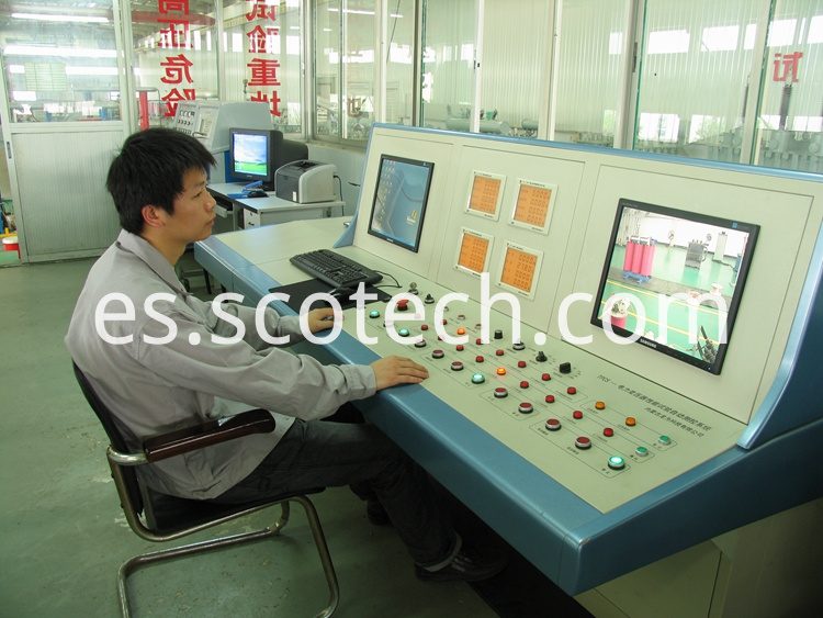 testing control room