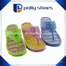 Women′s Thongs Sandals Shoes Beach Pool Casual Wear Green Yellow
