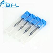 Fabricación de brocas micro carburo BFL, brocas micro carburo sólido para níquel y tianio