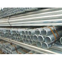 Q235 aço galvanizado tubo para construção