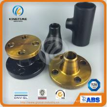 ASME, DIN, JIS, garnitures de tuyau de réducteur d'acier au carbone de GOST (KT0306)