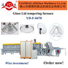 Continuamente a tampa do potenciômetro que modela a linha de produção maquinaria de vidro