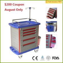 Coupon de 200 $! Certificat CE de la FDA MT01A Chariot médical d'hôpital / chariot d'hôpital