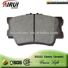 D1212 ceramic brake pad for Toyota Camry