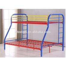 Uso específico da cama Home Use beliches triplos baratos do metal para o projeto dos miúdos