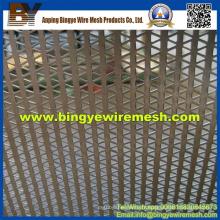 Treillis métallique perforé utilisé dans les faux plafonds