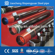 A335 P9 ALLOY SEAMLESS STEEL PIPE WITH BLACK COATING ,PLASTIC CAPS