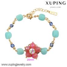 74587 Xuping new designed charm women gold bracelet