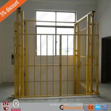 супер качество тип направляющих гидравлический электрический грузовой лифт грузовой лифт / склад лифт лифт