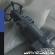 Válvula de compuerta de acero fundido y forjado con operación manual
