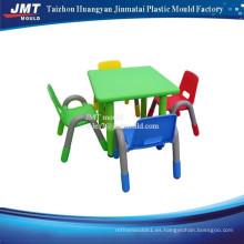 Sillas de mesa plásticas silla de comedor de inyección y molde de silla de escritorio