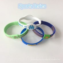 Promotion Gifts Custom Rubber Wristband Silicone Bracelet