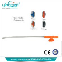 Cateter descartável de sucção em PVC