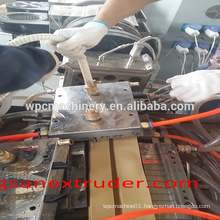 Thailand PVC WPC window and door profile extrusion machine/pvc profile for window frame/plastic profile extrusion