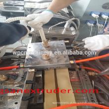 Tailândia PVC WPC janela e perfil de porta de extrusão / perfil de pvc para estrutura de janela / extrusão de perfil de plástico