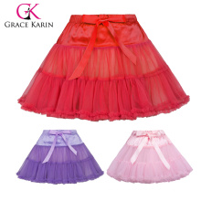 Grace Karin Little Girls Luxury 2-Layers Soft Tulle Netting Dance Tutu Petticoat Underskirt 1~9 Years CL010458