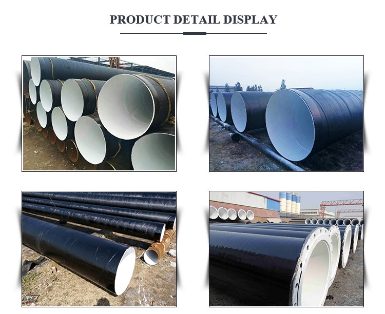 Epoxy Coal Bitumen Steel Pipe display