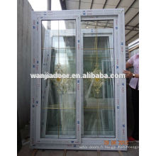 Fenêtres de maison bon marché en PVC wanjia à vendre