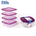 Frozen fruits and vegetables plastic packing box
