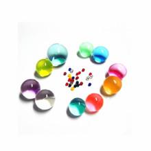 Cuentas redondas del agua del arco iris