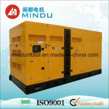 Conjunto de generador diesel silencioso de 120kw Weichai del alto rendimiento