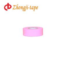 "1"" * 200' розовый след маркировочная лента"