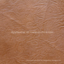 Grano rizado de moda para los muebles de cuero (QDL-53160)