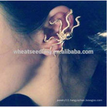 Octopus ear clip of fashion and personality no hole gay ear clip