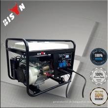 BS6500WGDP Weiß BISON China Taizhou 5kva12v tragbare Benzin Motor Generator Schweißmaschine Dual-Use-Schweißer Maschine