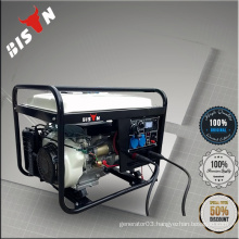 BS6500WGDP White BISON China Taizhou 5kva12v Portable Gasoline Motor Generator Welding machine Dual-use Welder Machine