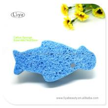New Style Fish Shape Bad Schwamm farblich