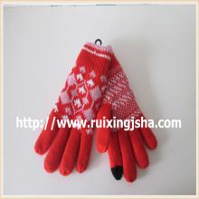 женский трикотаж касание экран перчатки
