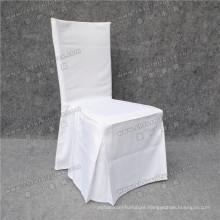 Wholesale White Wedding Ruffle Chair Cover (YC-858-03)