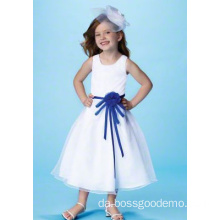 Balletkjole Rund hals Tæthed Satin Tulle Flower Girl Dress