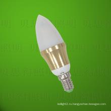 Золотая лампа накаливания Светодиодная лампа 4W Литой под давлением алюминий