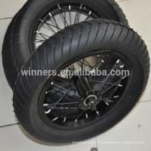 """Roue de bicyclette en aluminium anodisé de roue gonflable de 12.5 """"x 3"""""""