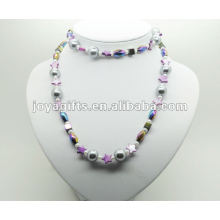 Envoltura de la hematita de la manera con la perla púrpura Shell de la perla