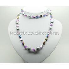Модный гематит обертывания с фиолетовым Star Pearl Shell