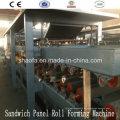 Máquina de painel sanduíche de lã de rocha e EPS para a África (AF-S980)
