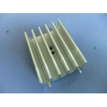 Custom CNC Machining Heatsink with Precision Anodized Aluminum Alloy