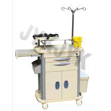Medical ABS Emergency Trolley Jyk-C10b-1