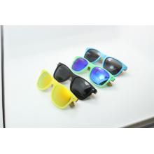 Gafas de sol de madera del color del caramelo (JN0001HQ)